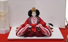平安豊久作 刺繍 芥子親王- 雪割梅 -