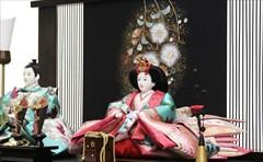 京十番 イタリアンシルク カメリア・スワロフスキー