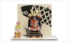 平安武久 8号鎧 奉納鎧 黒糸威 「黒鯉の襲ね」