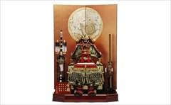 平安道翠12号 京鎧 M12号 朱赤に白 鎧飾り 「官邸鎧 天空の龍 」