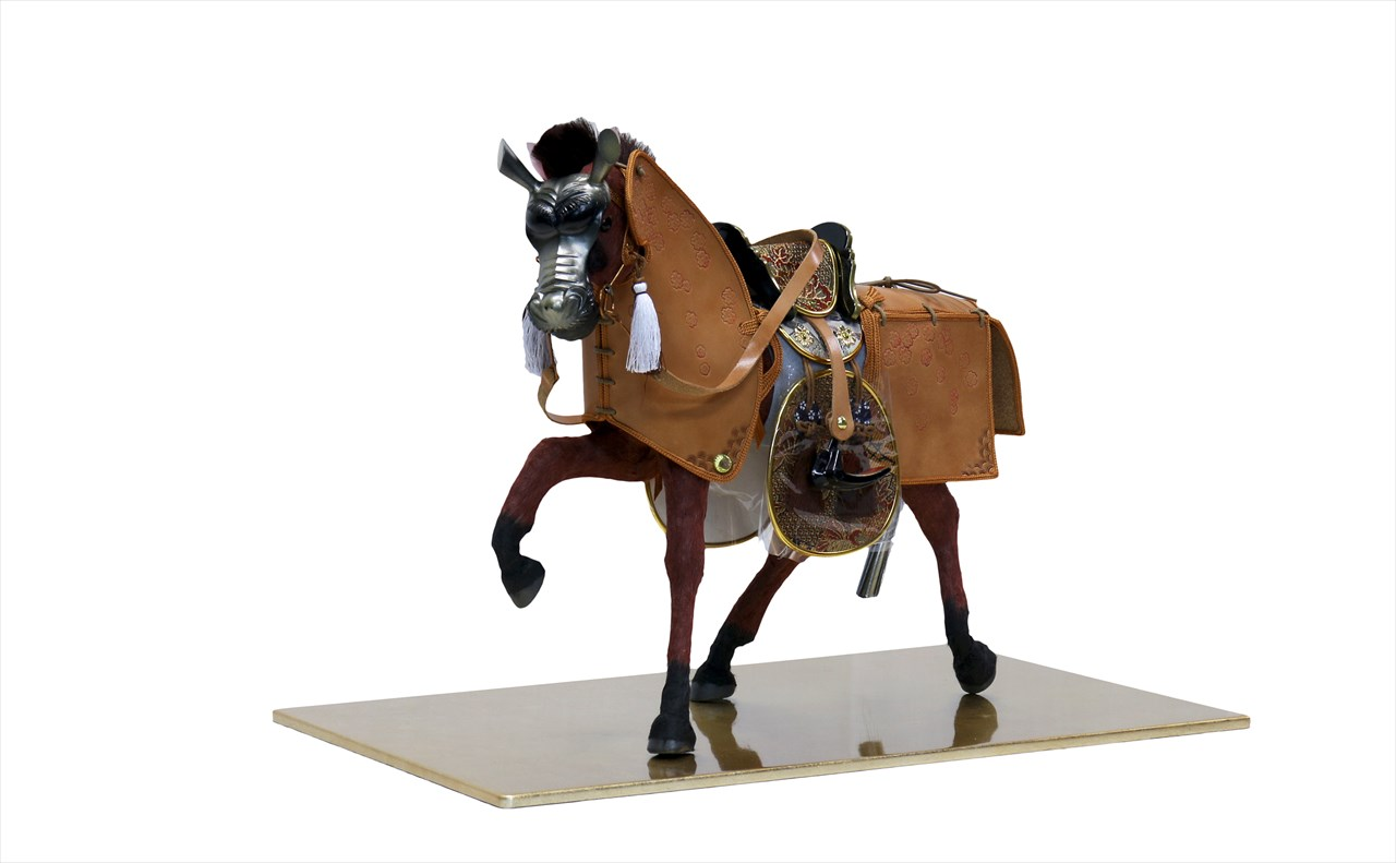 平安道翠 10号 飾馬 出飾り 馬甲