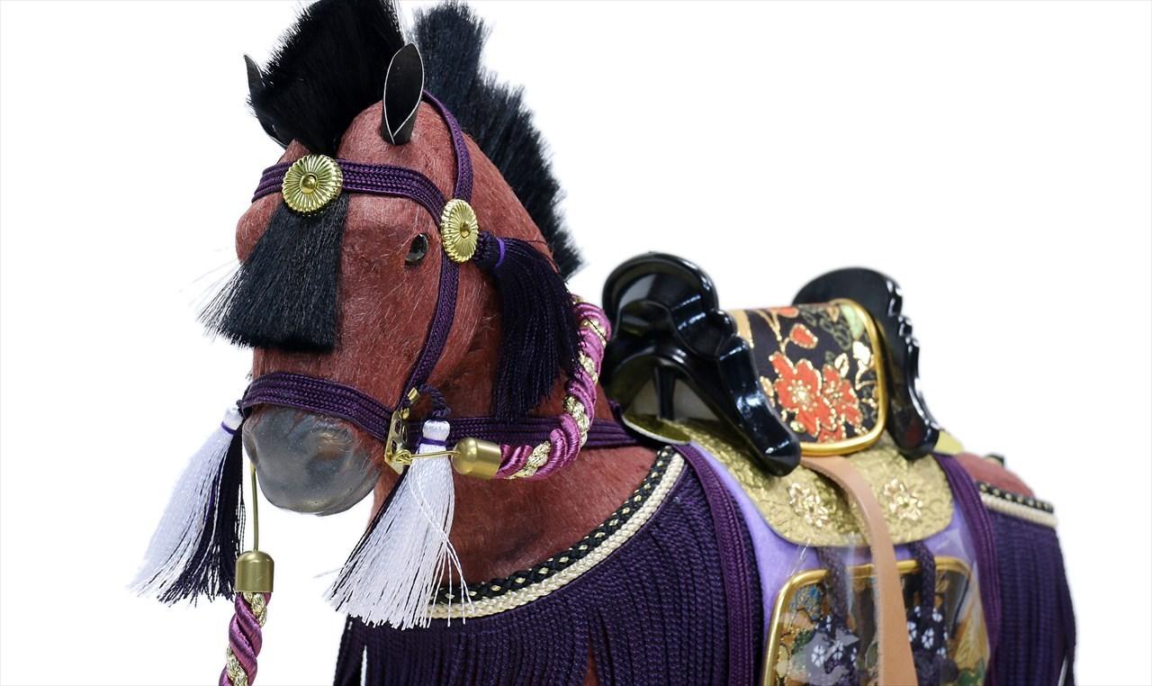 平安道翠 10号 飾馬 出飾り 奉書栗毛