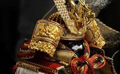 平安道翠 8号 鎧飾り 「金彩龍虎 京鎧 官邸鎧 」