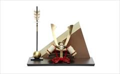 五月人形 平安豊久作兜飾り 翠鳳 8号 「綺羅星(きらぼし)」